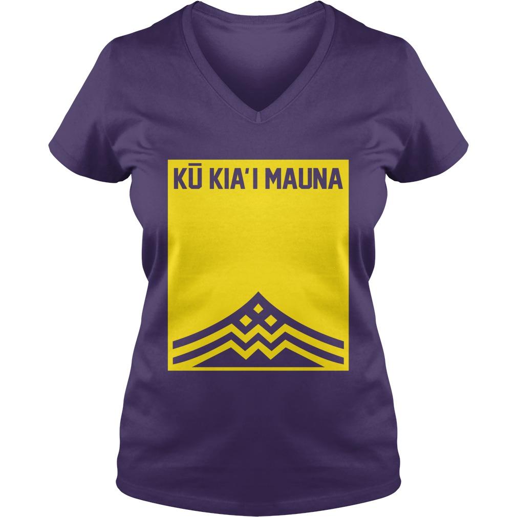 Ku Kiai Mauna lady v-neck
