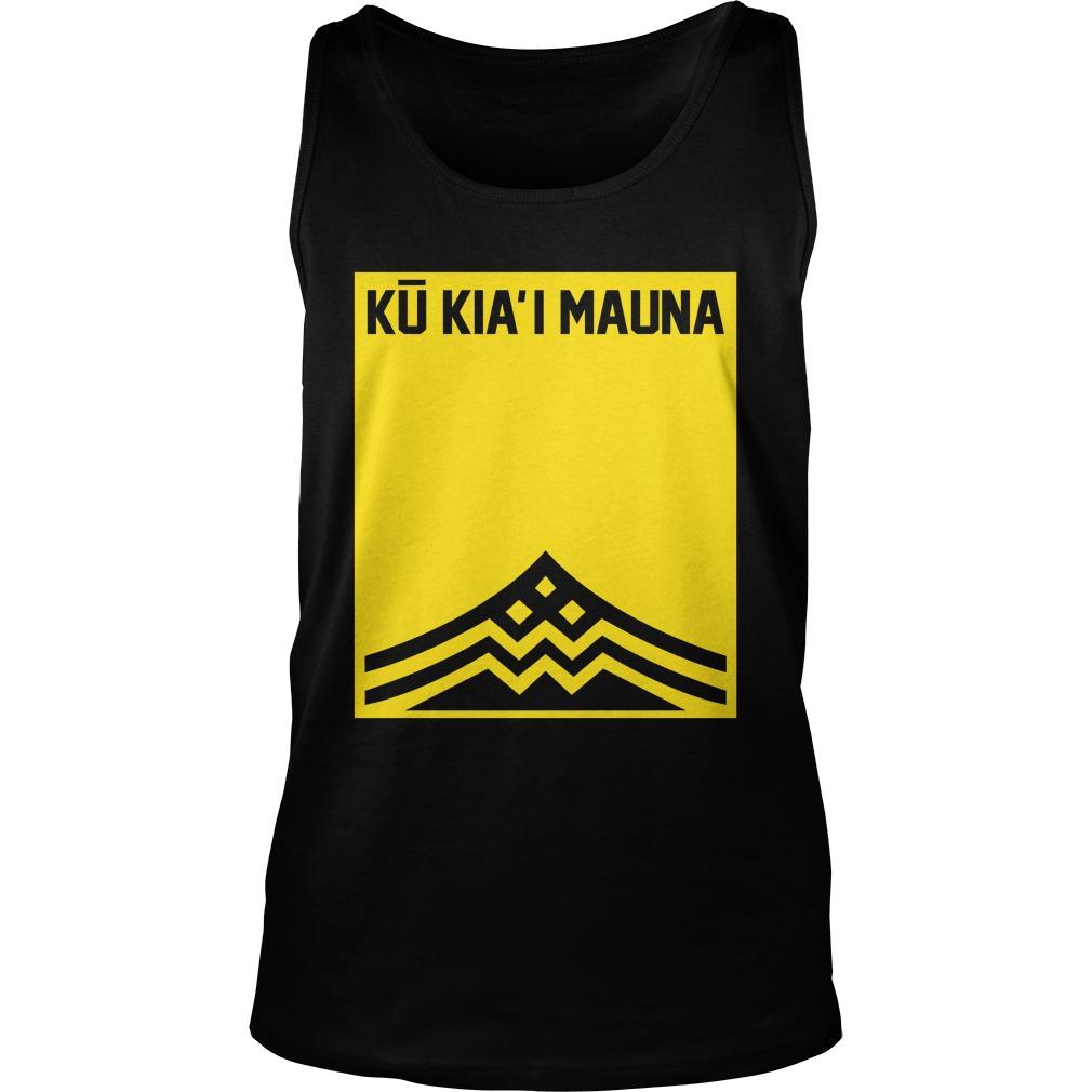 Ku Kiai Mauna tank top