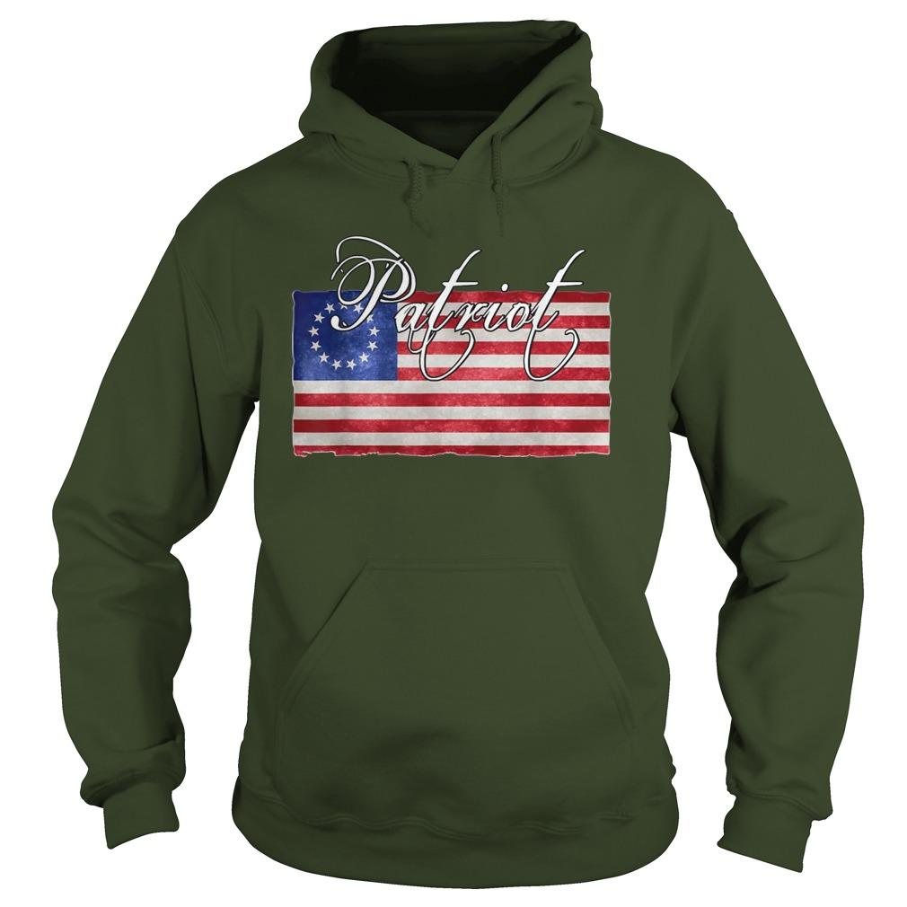 Patriotic Betsy Ross Flag hoodie