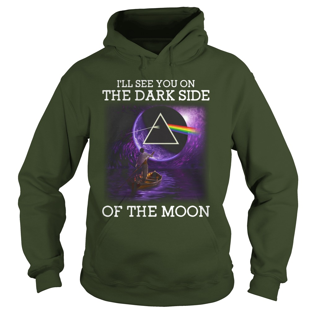 Pink Floyd I'll See You On The Dark Side Of The Moon hoodie
