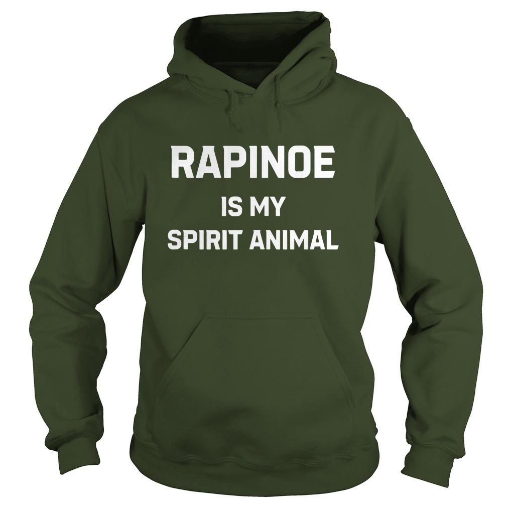 Rapinoe Is My Spirit Animal hoodie