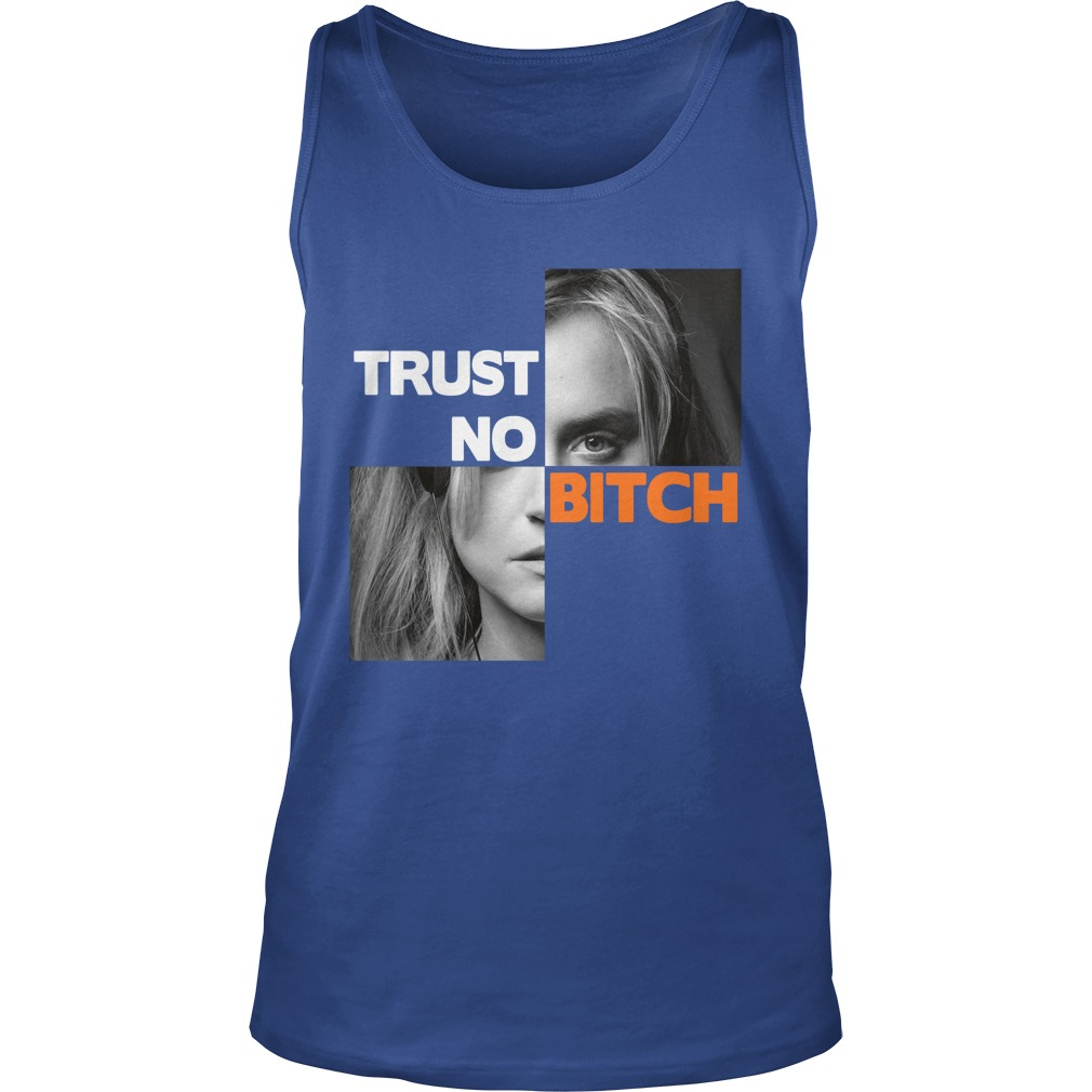 Taylor Schilling trust no bitch tank top