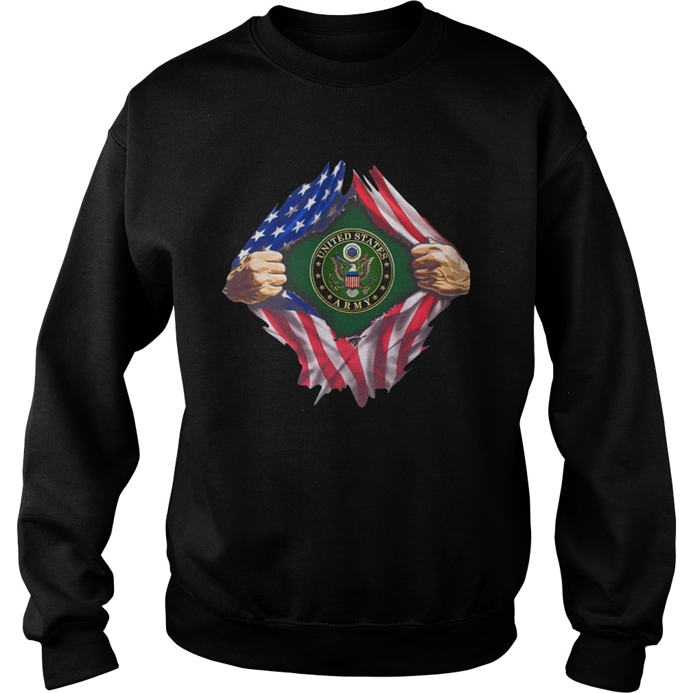 United states army inside me sweatshirt