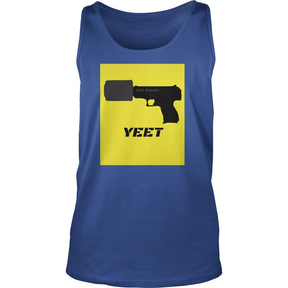 Yeet Cannon tank top