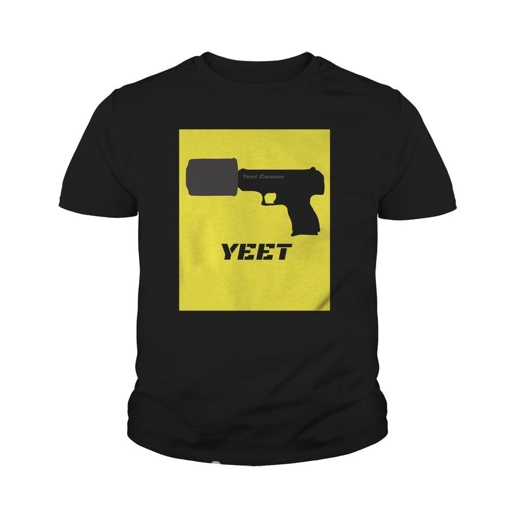 Yeet Cannon youth tee