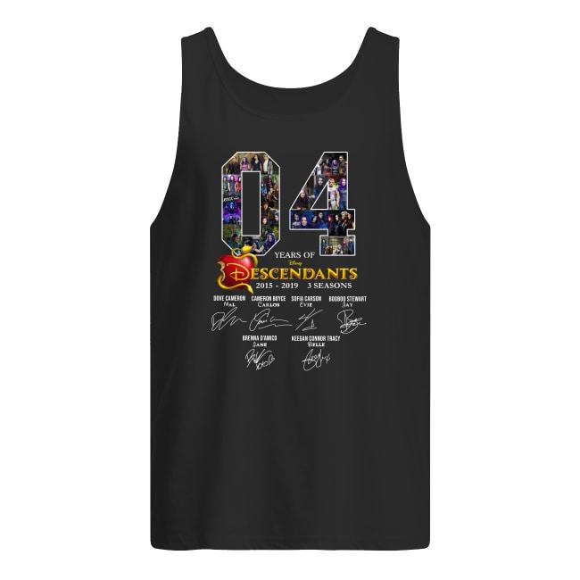 04 years of Descendants 2015-2019 3 seasons signature men's tank top
