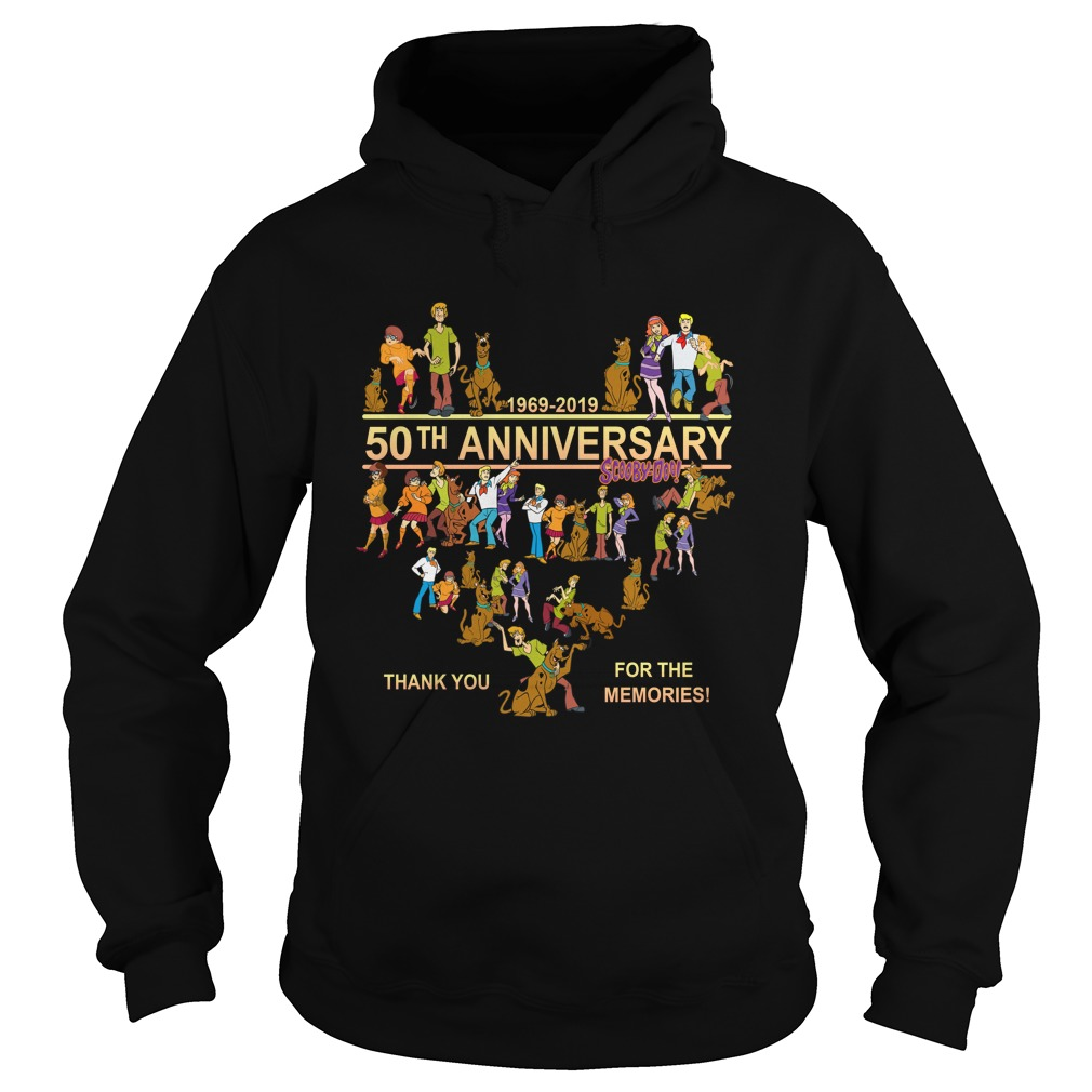 [NEW] 50th anniversary Scooby-Doo 1969-2019 thank you for the memories shirt