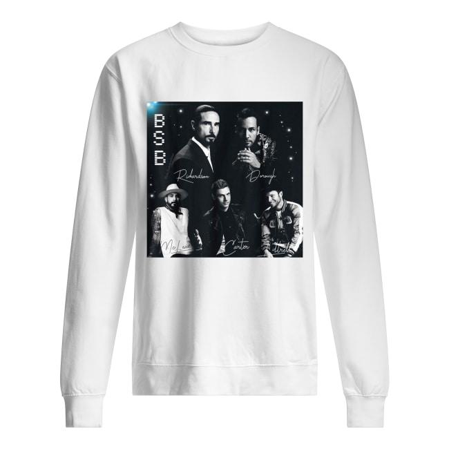 BSB Backstreet boys signature sweatshirt
