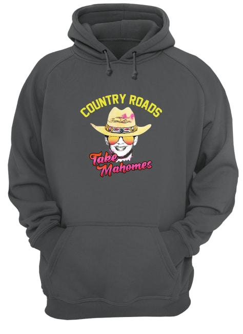 Nice Country roads take mahomes shirt