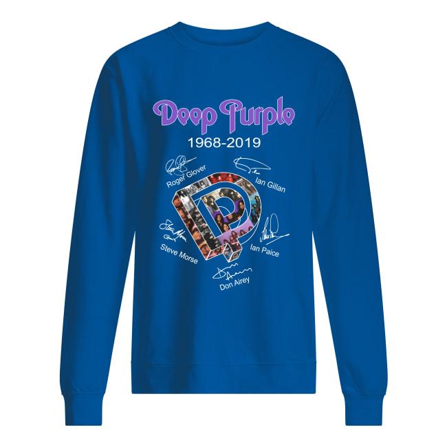 Deep Purple 1968 2019 signature sweatshirt