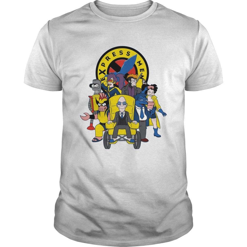 Express Men futurama X-Men guy shirt