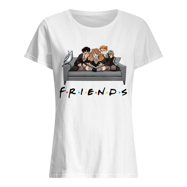 Harry Potter Ron and Hermione Friends women's shirt