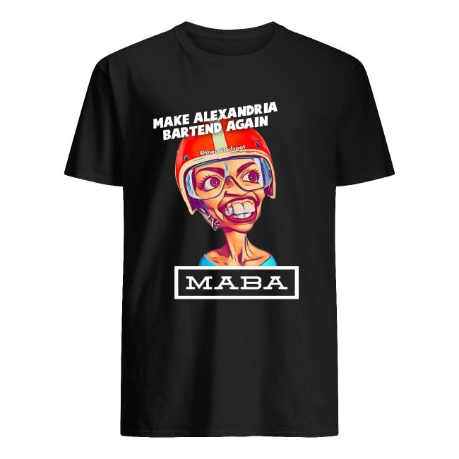MABA make Alexandria Bartend again men's shirt