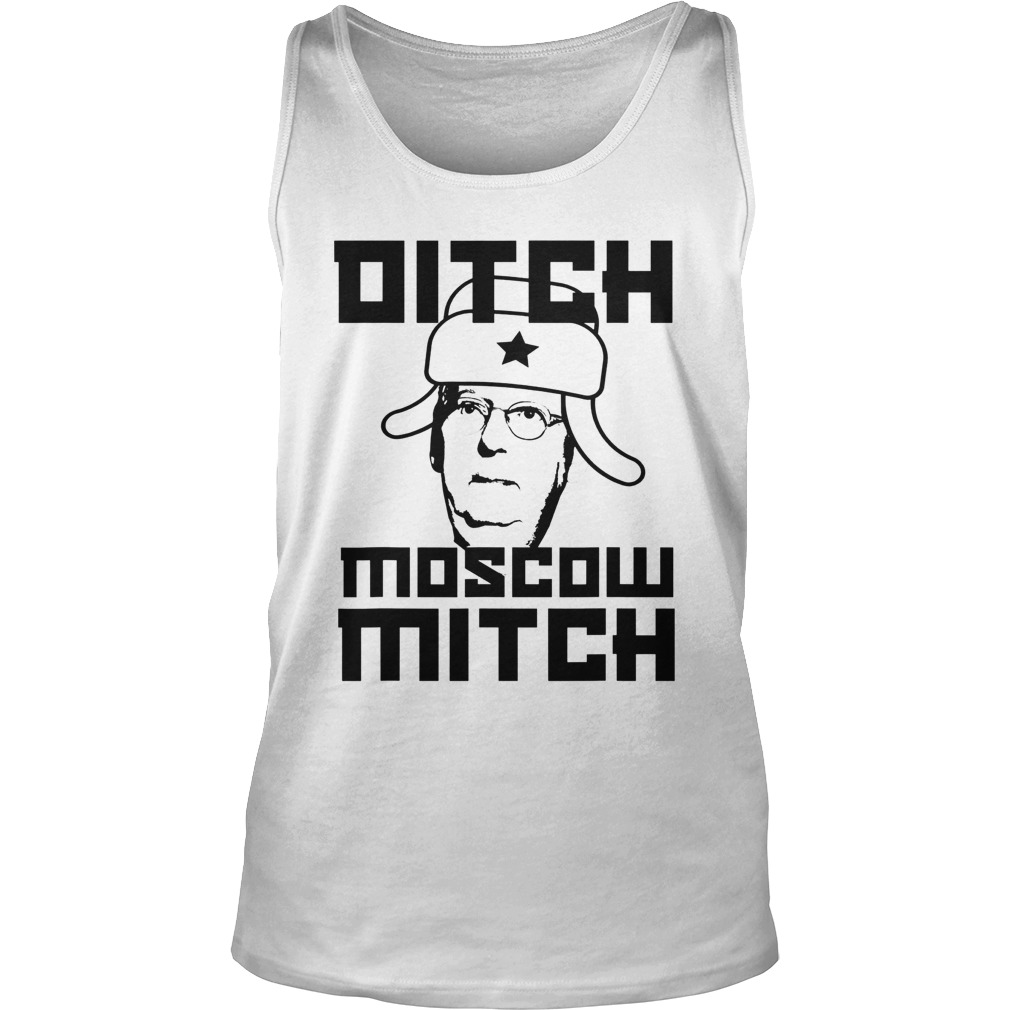 Mitch McConnell ditch Moscow Mitch tank top