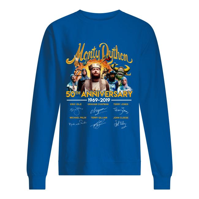 Monty Dython 50th anniversary 1969-2019 signature sweatshirt