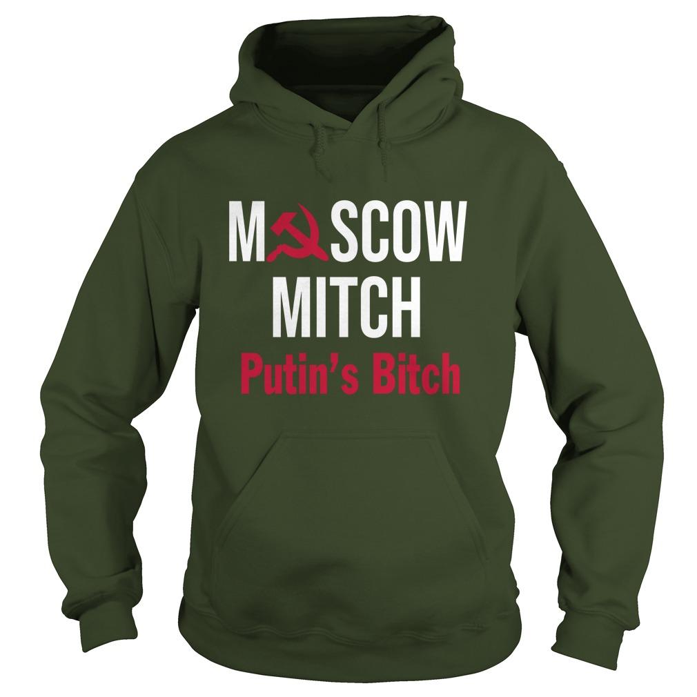 Moscow Mitch Putin's Bitch hoodie