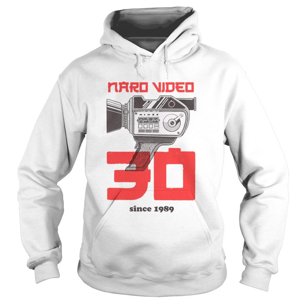 Naro Video Since 1989 Camera Graphic hoodie