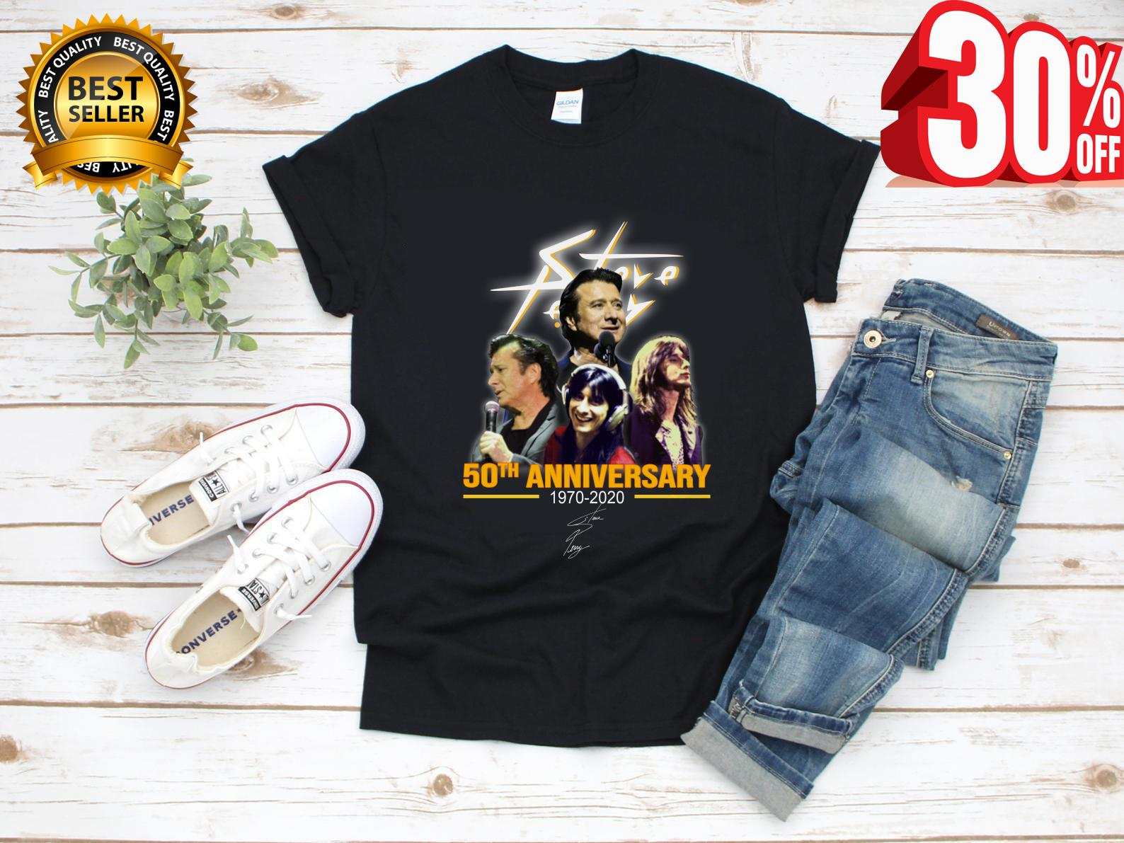 Best Email Signatures 2020 Steve Perry 50th anniversary 1970 2020 signature shirt, hoodie