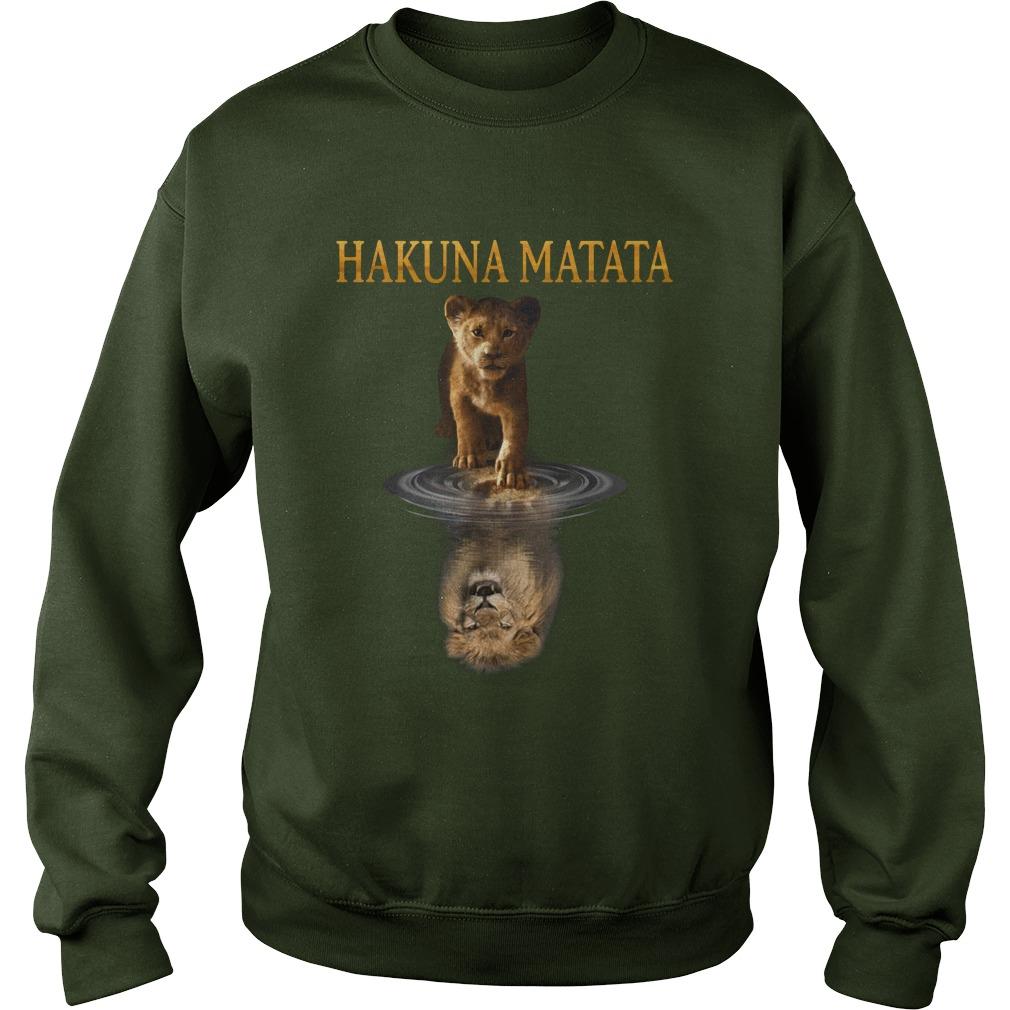 The Lion King Hakuna Matata sweatshirt