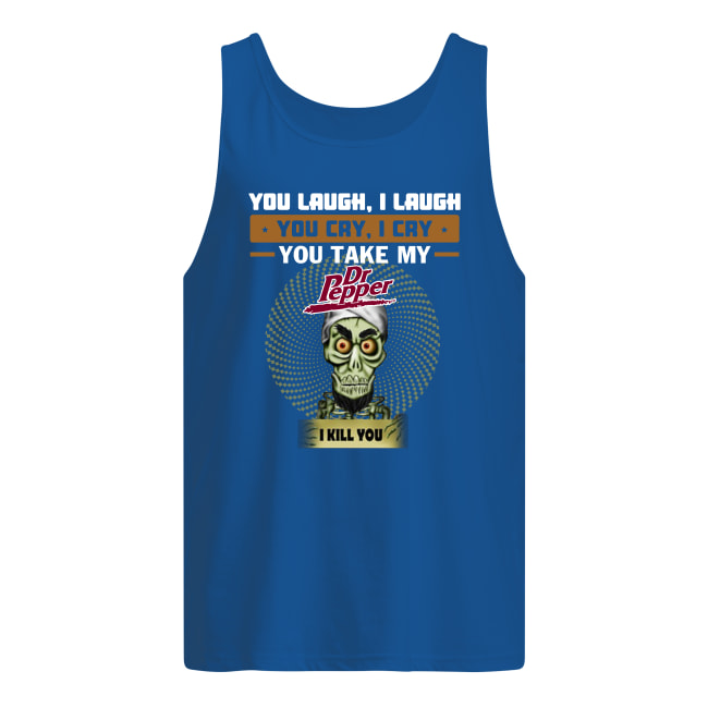 Achmed You laugh i laugh you cry i cry tank top