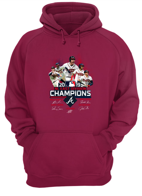 Braves 2019 Nl East division champions hoodie