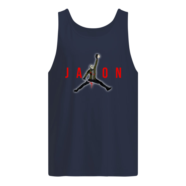 Jason Voorhees Air Jordan tank top