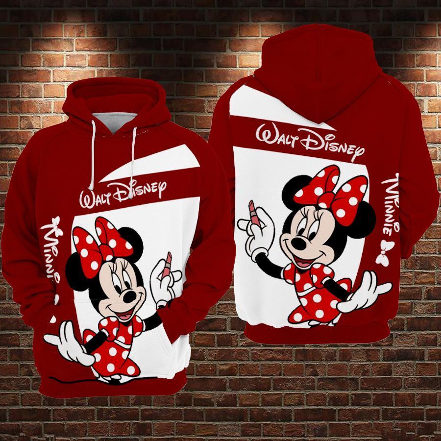 Mickey walt disney 3D hoodie