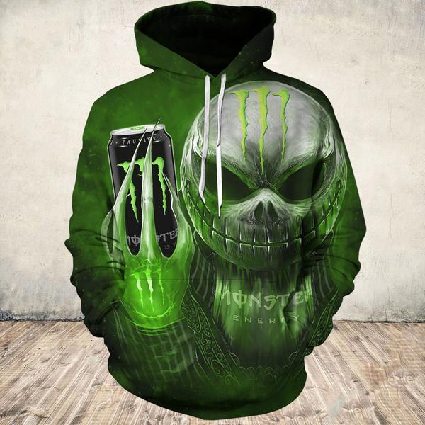Monster Ghost 3D hoodie
