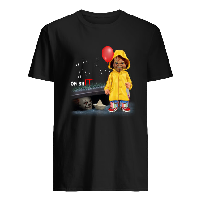 Oh shIT Chucky and Pennywise men's shirt