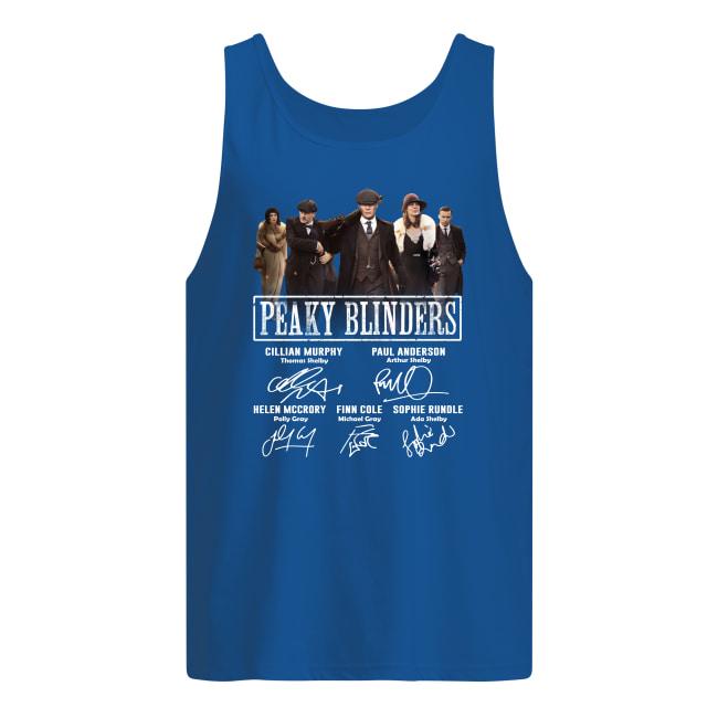 Peaky Blinders characters signature tank top