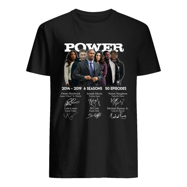 Power 2014 2019 6 seasons 50 episodes signature men's shirt