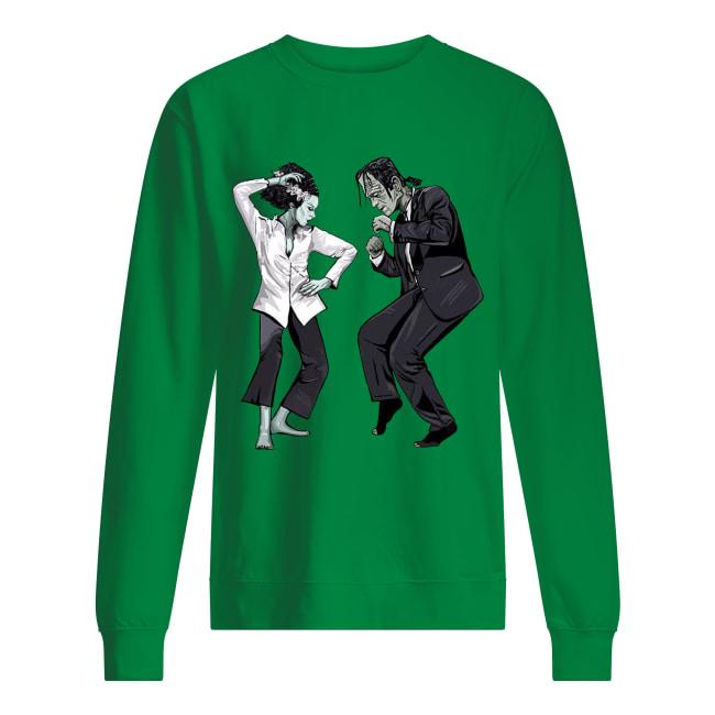 Pulp Frankenstein dance sweatshirt
