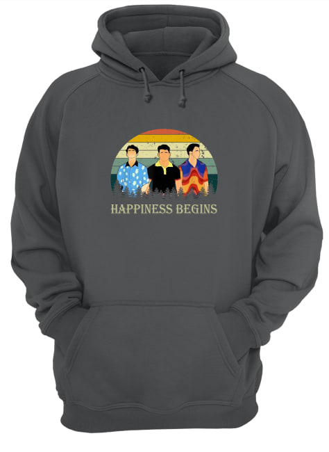 Vintage Jonas Brothers happiness begins tour hoodie