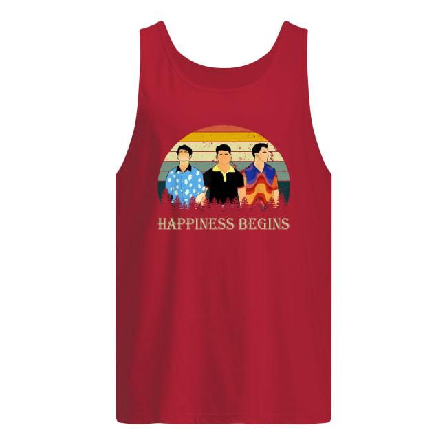 Vintage Jonas Brothers happiness begins tour tank top