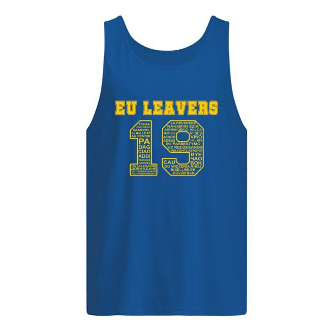 19 Eu leavers tank top