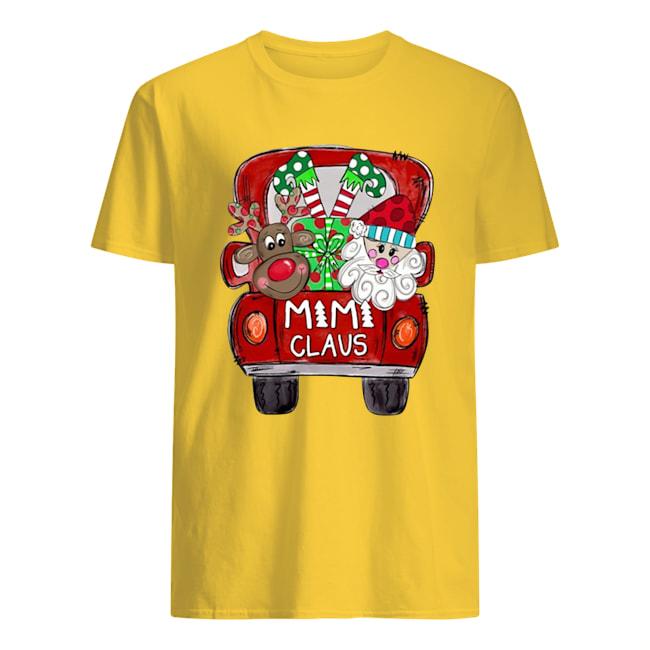 Christmas truck Santa claus mimi claus shirt
