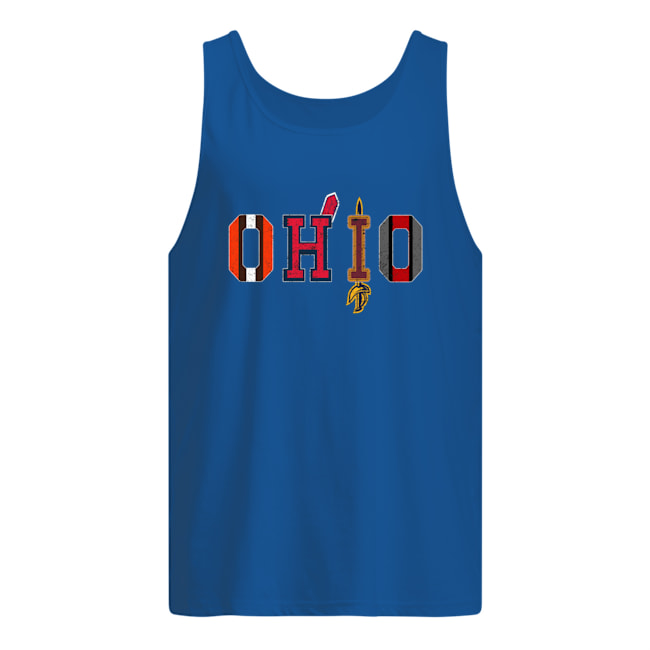 Cleveland Browns Indians Cavaliers Ohio State sport tank top