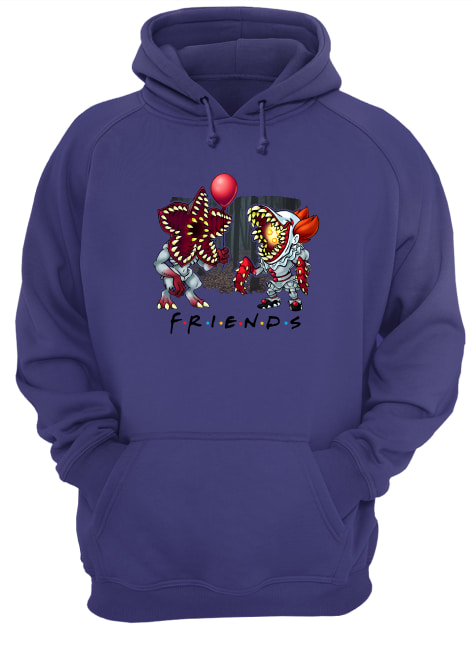 Demogorgon and Pennywise Friends hoodie