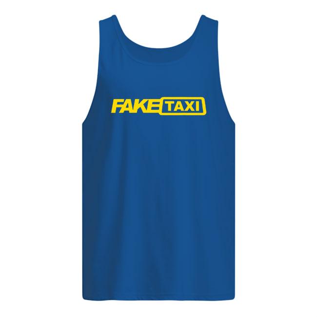 Fake taxi tank top