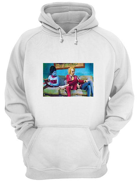 Halloween Beetlejuice waiting room hoodie