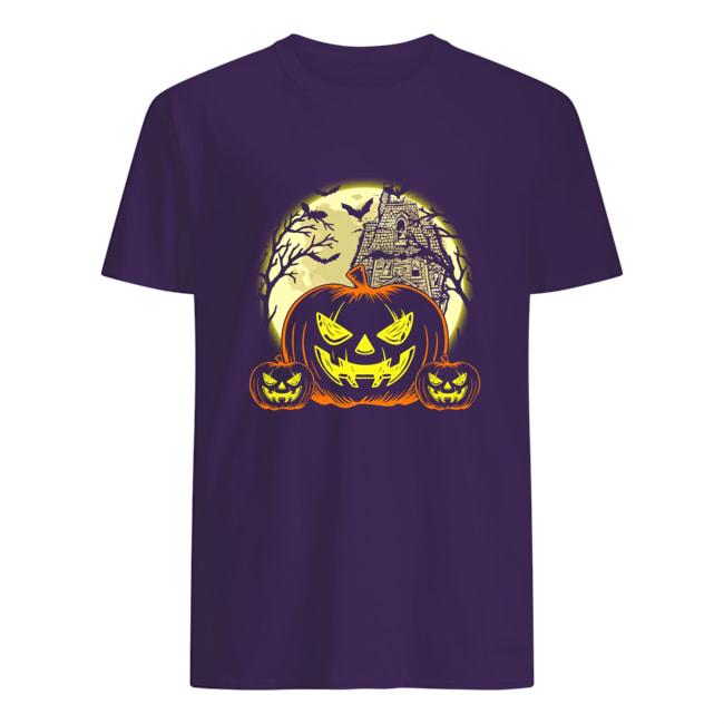 Halloween pumpkins castle shirt
