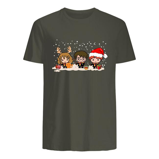 Harry Potter chibi Christmas mens shirt
