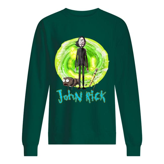 John Wick Rick and Morty John Rick sweatshirt