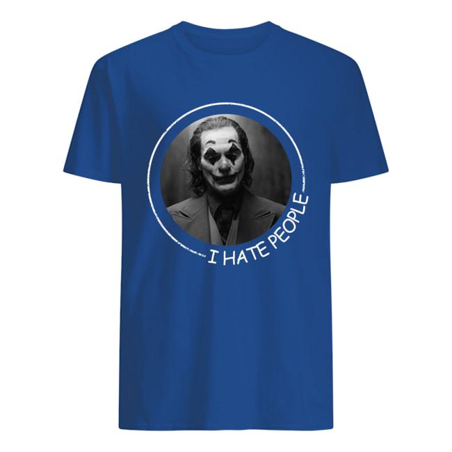Joker Phoenix I hate people shirt