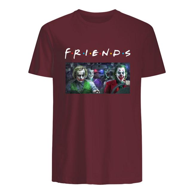 Joker all versions friends tv show mens shirt