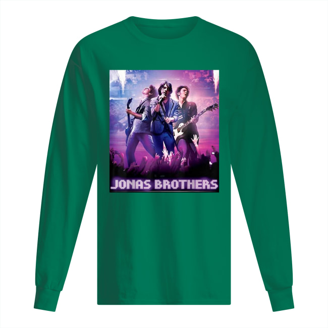 Jonas Brothers poster long sleeved