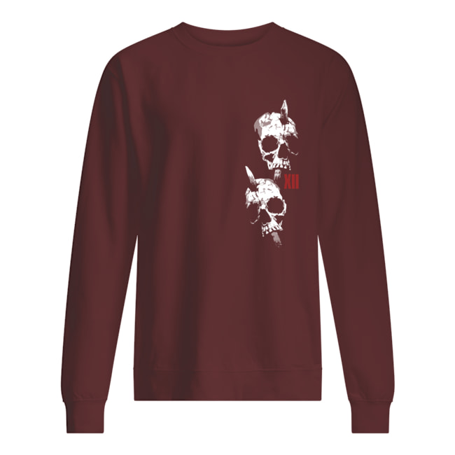 Let them hate as long as they fear skull sweatshirt