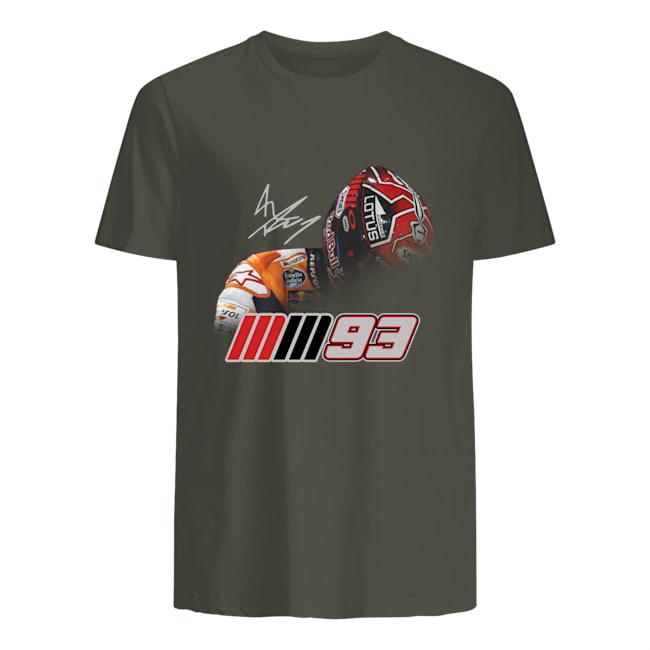 MM93 Marc Marquez signature mens shirt
