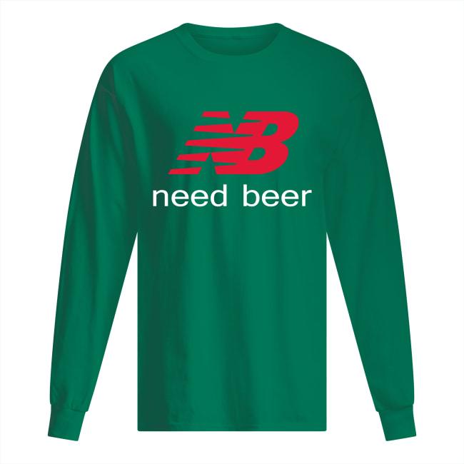 NB need beer long sleeved