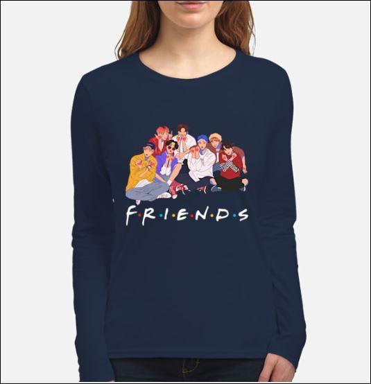 High BTS Friends tv show shirt